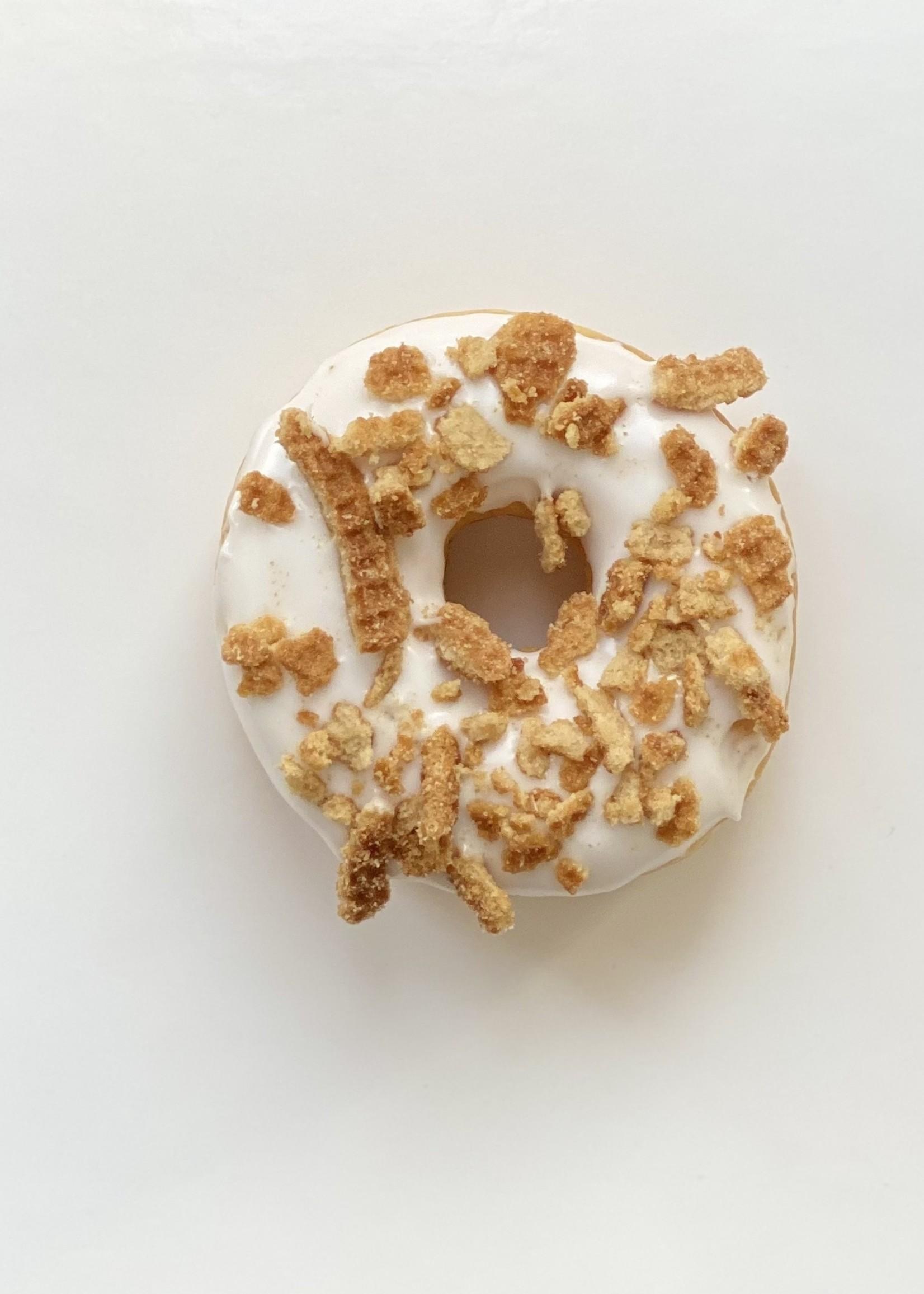 Stroopwafel donut