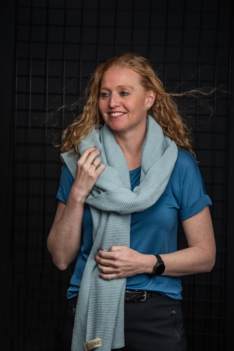 Sjaal Astana - Light Blue