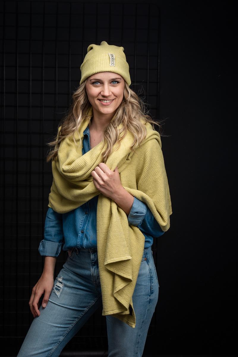 Sjaal Astana - Lemon
