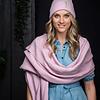 Sjaal Astana - Light Pink