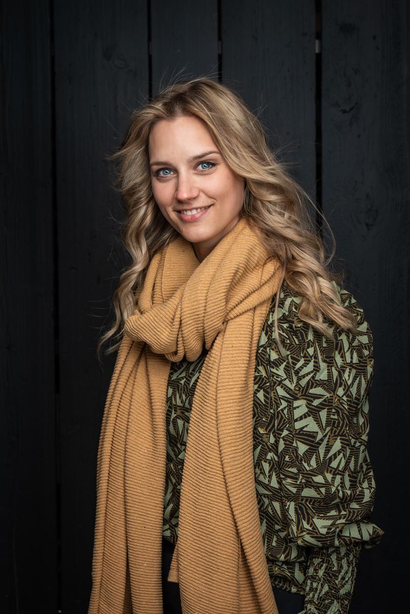 Sjaal Astana - Honey