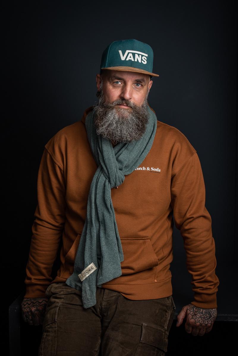 Sjaal North Ice - Hunter Green