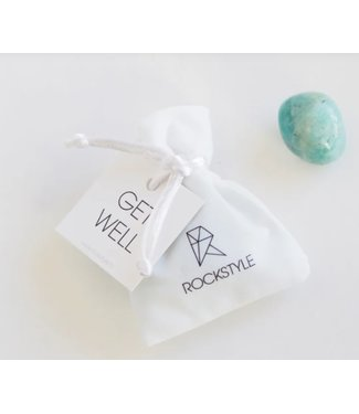 ROCKSTYLE Velvet bag - Get well