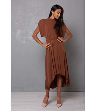 KIKISIX Abito dress caramel