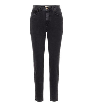 PIECES Leah Mom Jeans black High Waisted