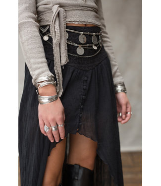 MOOST WANTED Soof Skirt Black