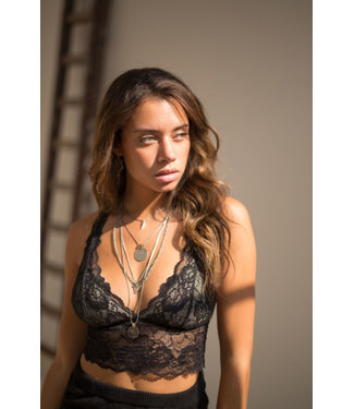 MOOST WANTED Lilly Bralette Black