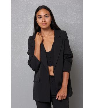 KIKISIX blazer & top Giacca zwart