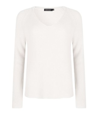Ydence YDENCE knitted sweater Tess white