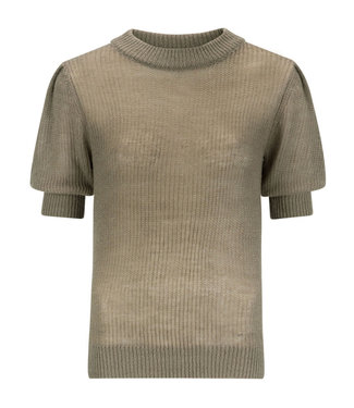 Ydence Knitted top krista Army