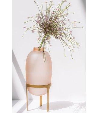 UNC Vase On Foot Pink