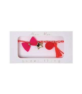 MERI MERI pink bracelet
