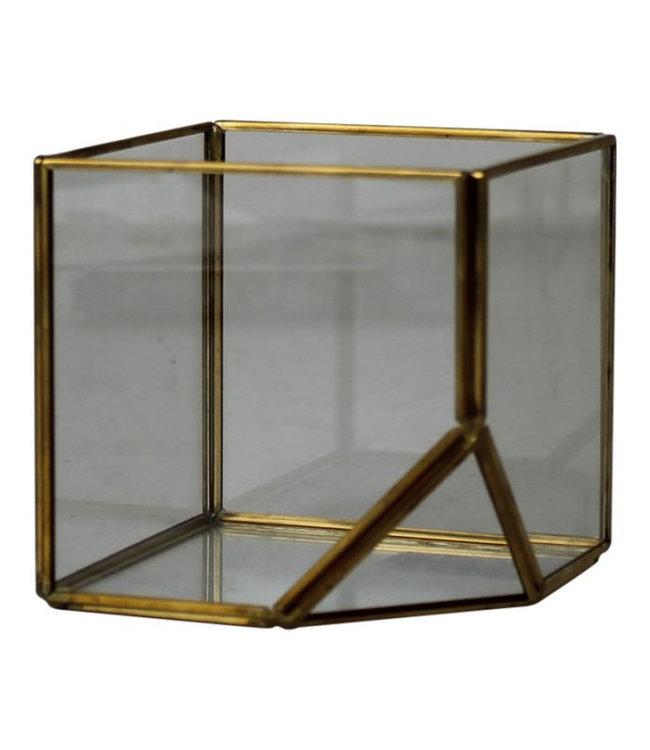 Box of glass small 10cm