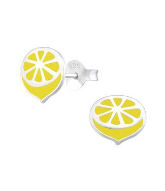 PRECIOUS JEWEL Kinder oorbellen - citroen