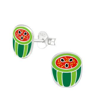 PRECIOUS JEWEL Kinder oorbellen - watermeloen