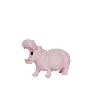 LOCO LAMA Nijlpaard lamp roze