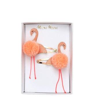MERI MERI Flamingo pompom haarclip