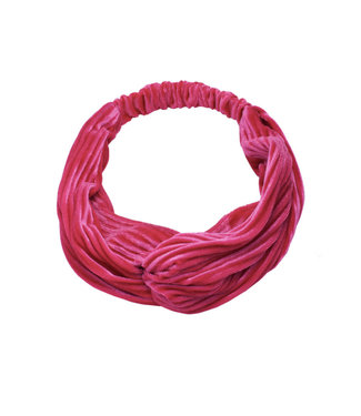 Rumah Velvet Roze Haarband