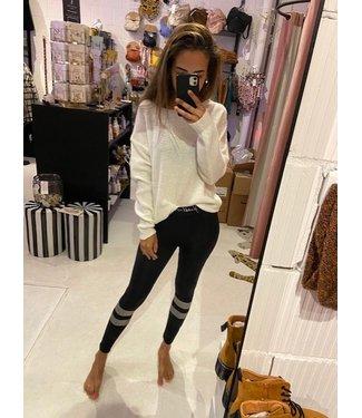 Kendall & Kylie Legging script waist black