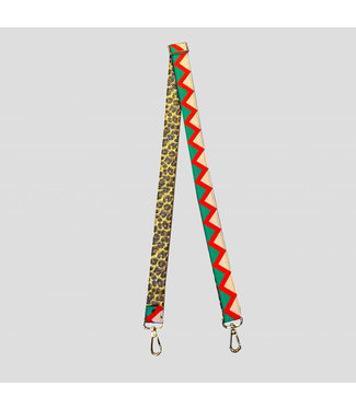 PINNED BY K Bag strap green multicolor