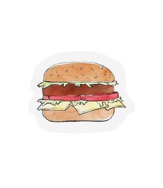The Giftlabel Kaart gift label - Hamburger
