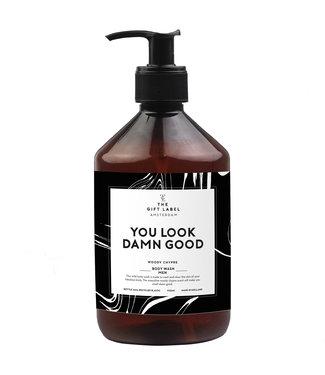 The Giftlabel Body Wash Men - You Look Damn Good