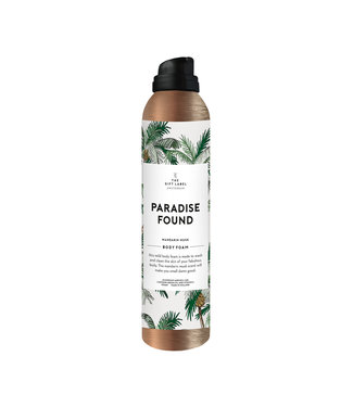 The Giftlabel Shower Foam - Paradise Found