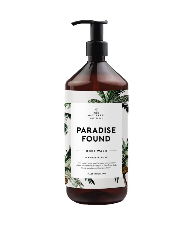 The Giftlabel Body Wash - Paradise found
