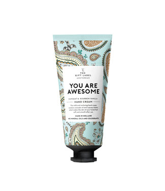 The Giftlabel Hand Cream Tube - You Are Awesome