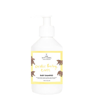 The Giftlabel Baby Shampoo - Coolest Baby Ever - Geel