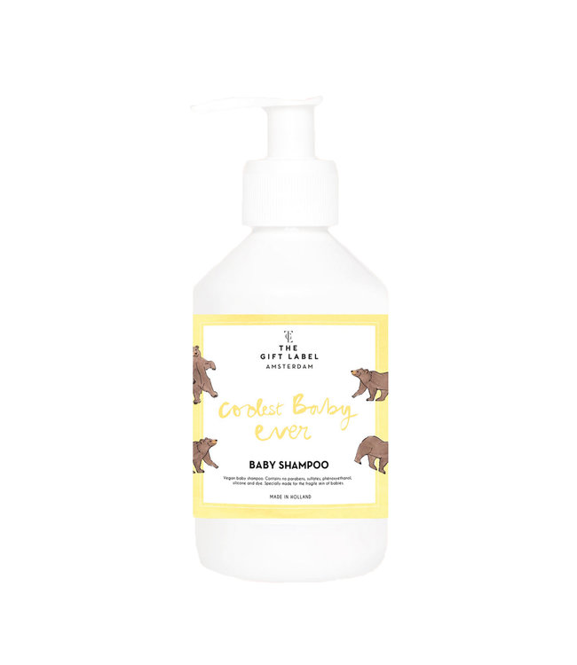 Baby Shampoo - Coolest Baby Ever - Geel