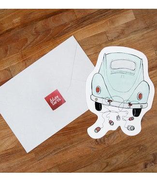 The Giftlabel Kaart Car