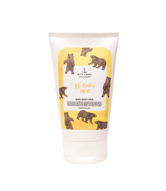 The Giftlabel Baby Body Milk - Hi Little One