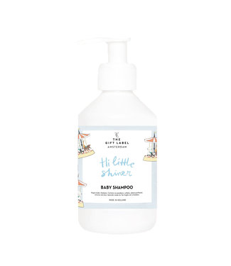 The Giftlabel Baby Shampoo - Hi Little Shiner - Blauw