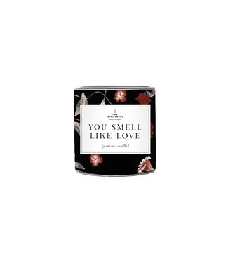 The Giftlabel Candle In Tin Small - You Smell Like Love