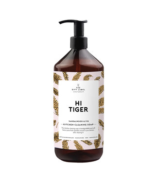 The Giftlabel Kitchen Cleaning Soap - Hi Tiger