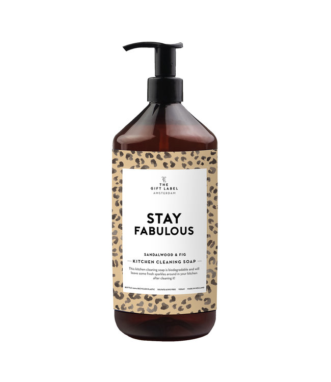 Kitchen Cleaning Soap - Stay Fabulous