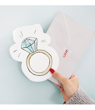 The Giftlabel Kaart Ring