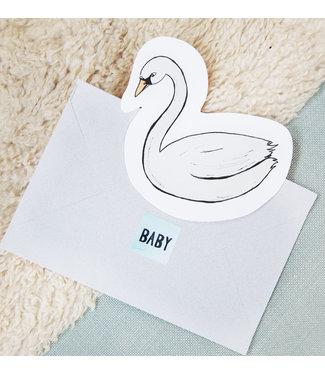 The Giftlabel Kaart Swan