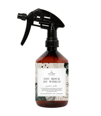 The Giftlabel Home Spray - You Rock My World