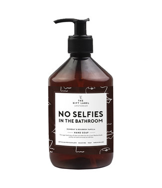 The Giftlabel Hand Soap - No Selfies In The Bathroom