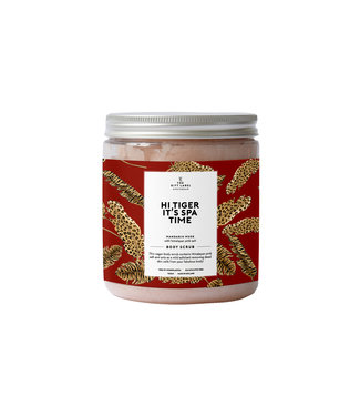 The Giftlabel Body Scrub - Hi Tiger It's Spa Time