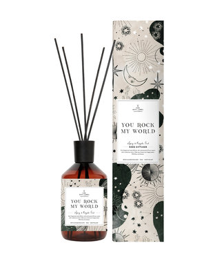 The Giftlabel Reed Diffuser - You Rock My World