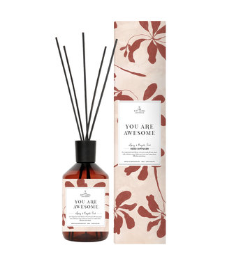 The Giftlabel Reed Diffuser - You Are Awesome