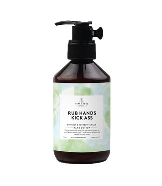The Giftlabel Hand Lotion - Rub Hands & Kick Ass