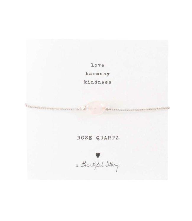A BEAUTIFUL STORY Rose Quartz
