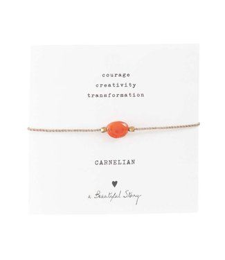 A BEAUTIFUL STORY Carnelian