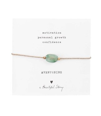 A BEAUTIFUL STORY Aventurine