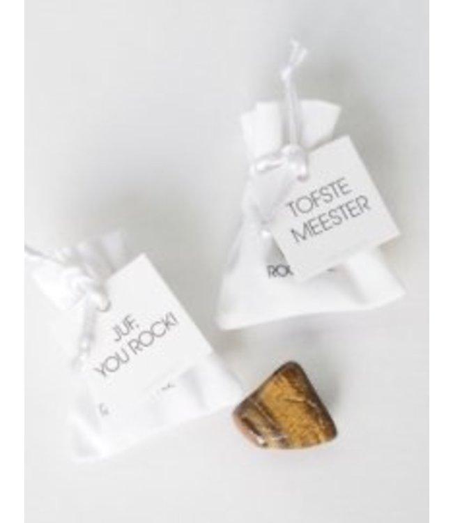 ROCKSTYLE Velvet bag -Juf you rock