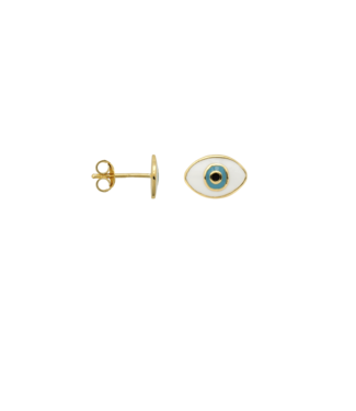 ANNA NINA Single Eye Stud Goldplated